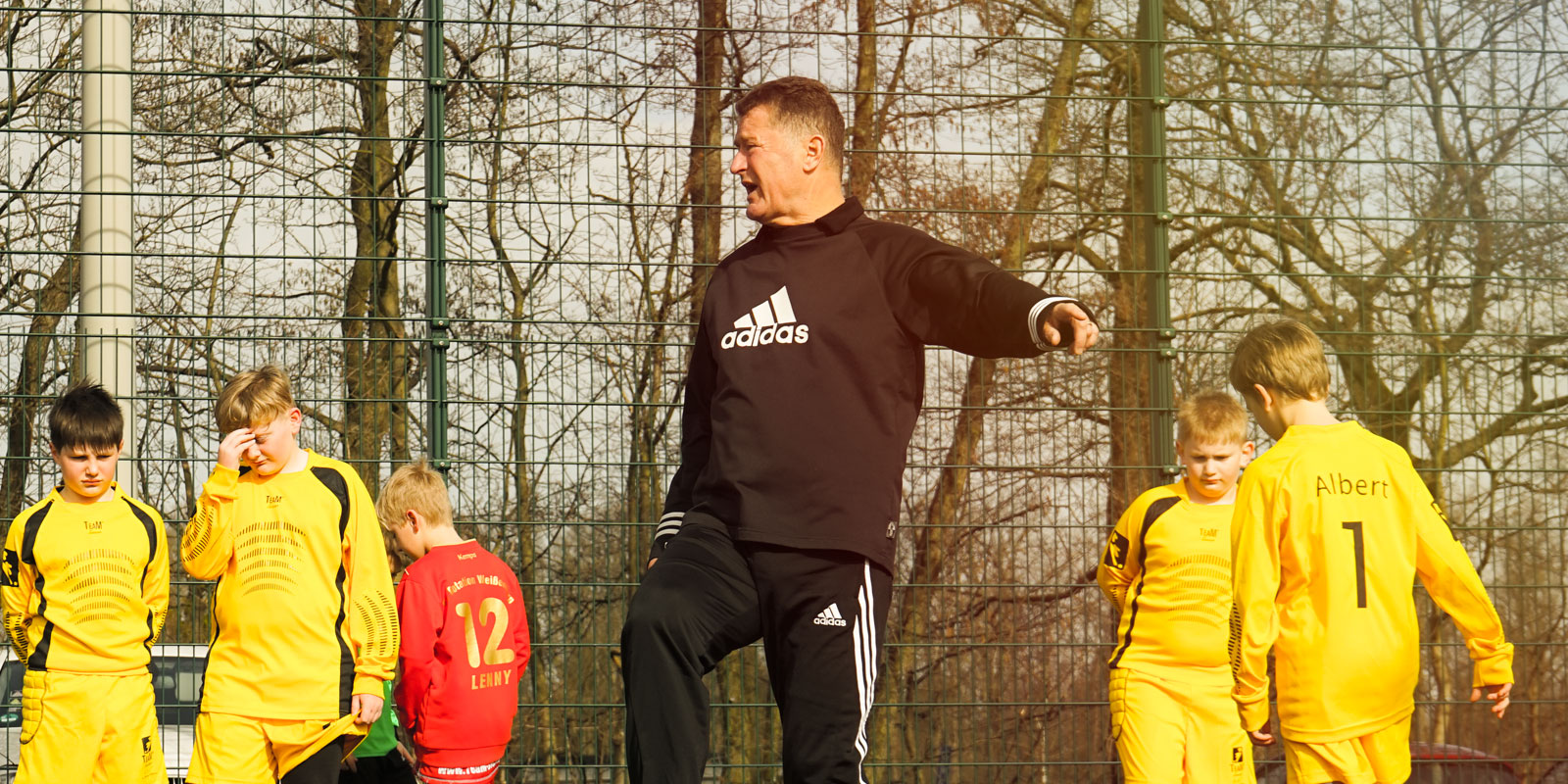 Fußball-Feriencamps Team Soccer Trainier-Team