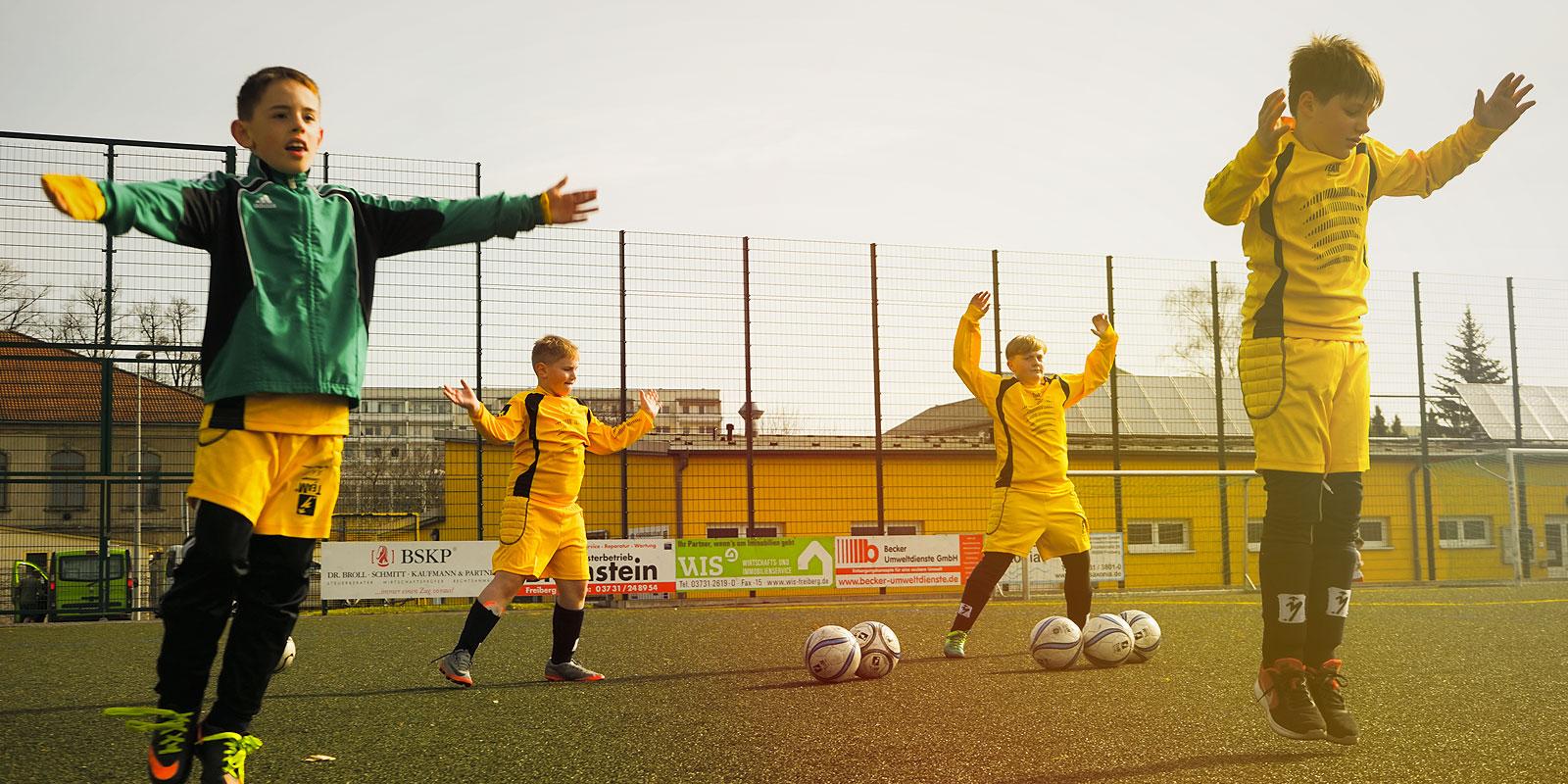 Fußball-Feriencamps Team Soccer