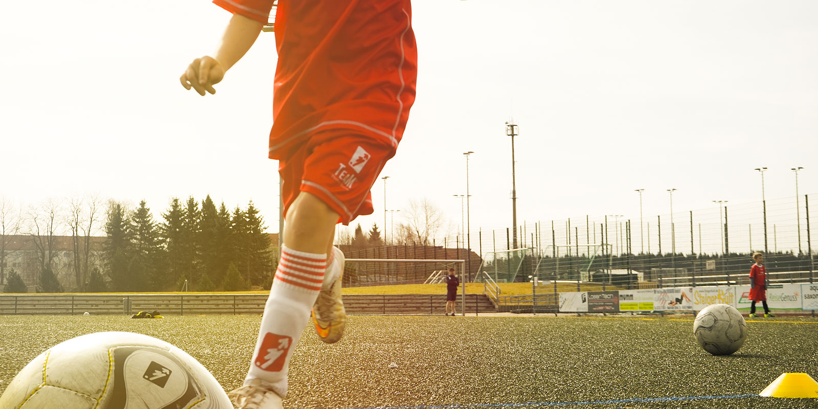 Fußball-Feriencamps Team Soccer Einzeltraining